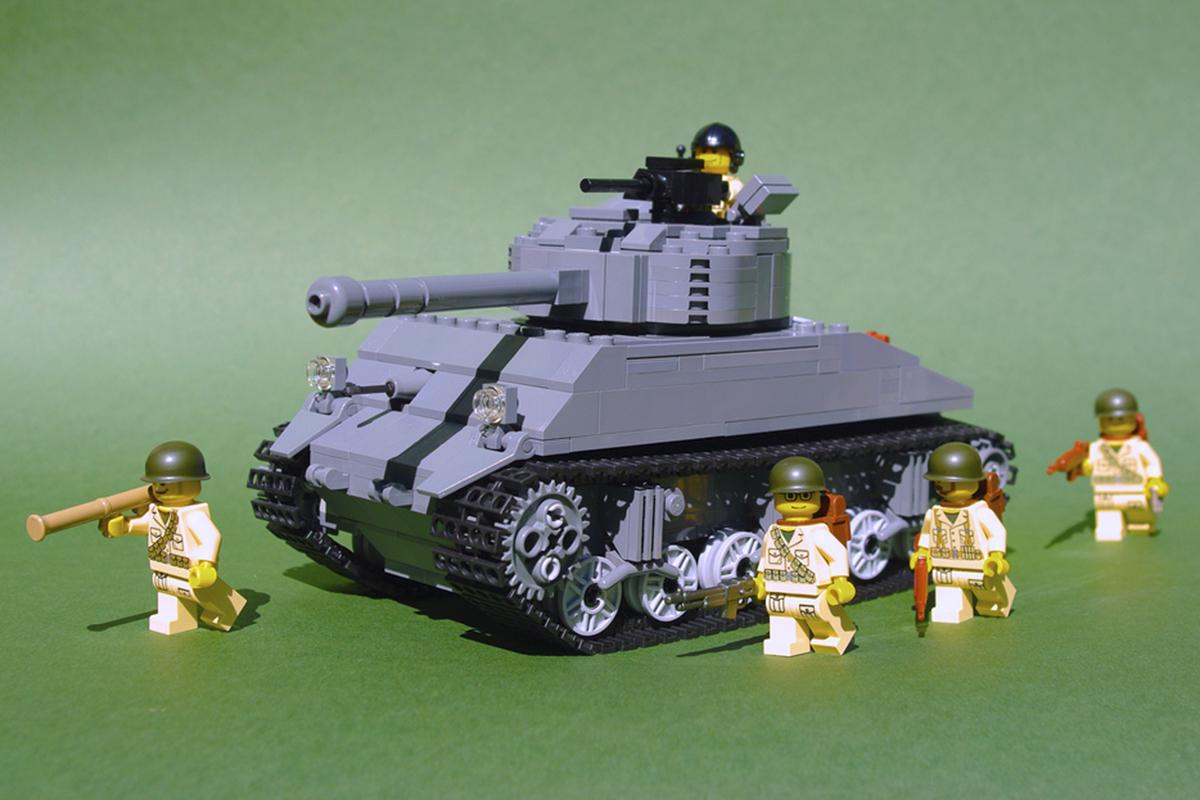 Czołg, który nie lubi wojny