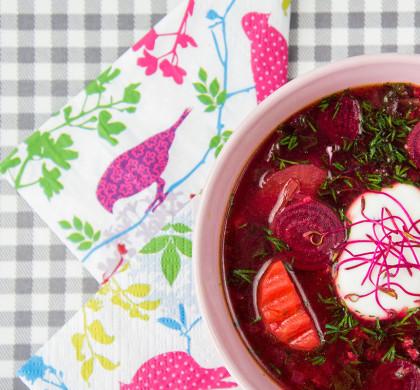 3 sprytne sposoby na przemycenie dziecku zupy + wiosenna botwinka Renatki