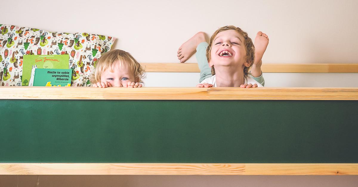 Jak urządzić pokój dla rodzeństwa? Wielka rewolucja w małym mieszkaniu