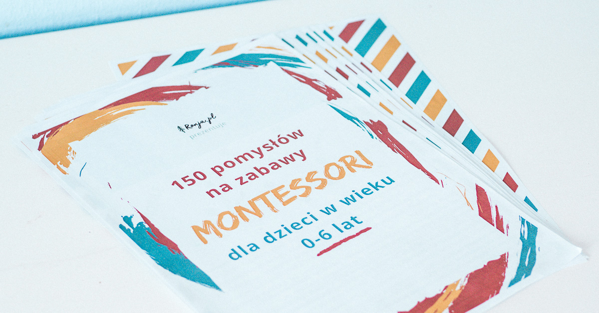 Ebook o Montessori za darmo dla Czytelników bloga