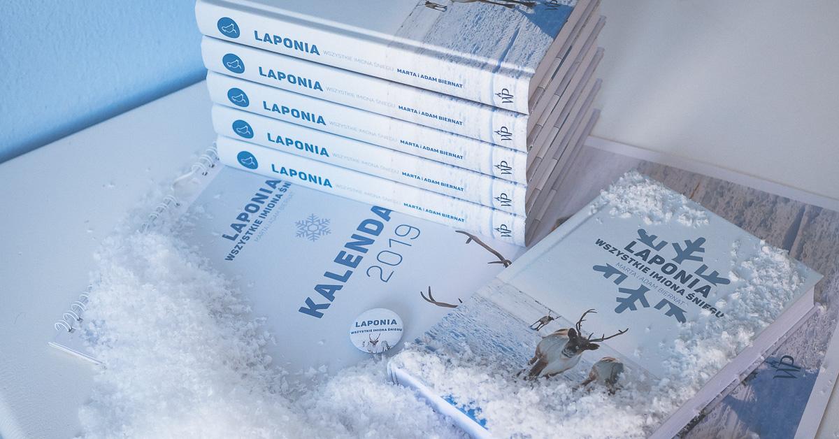 """""""Laponia. Wszystkie imiona śniegu"""" – szybkie rozdanie :)"""