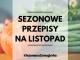 Sezonowa Szmuglerka - LISTOPAD